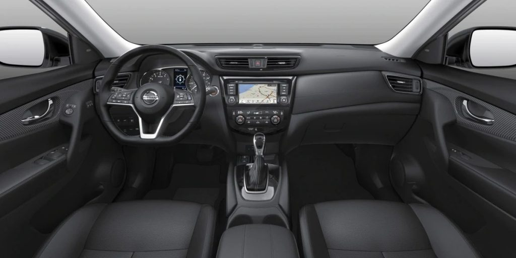2020 Nissan Rogue Charcoal Leather