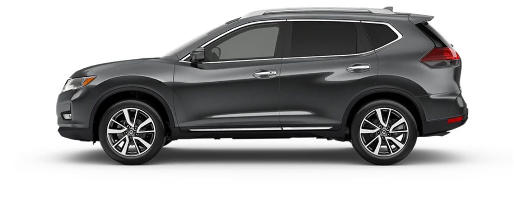 2020 Nissan Rogue parked