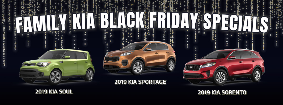 Check Out These Black Friday Specials At Family Kia Family Kia Of St Augustine