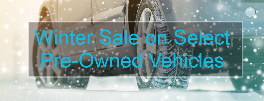 Winter Sale on Pre-Owned Vehicles near Wolfforth and Lubbock, TX