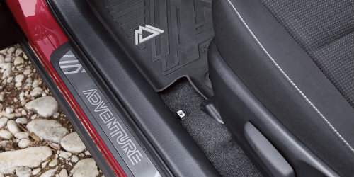 2018 Toyota RAV4 Adventure interior styling and accents