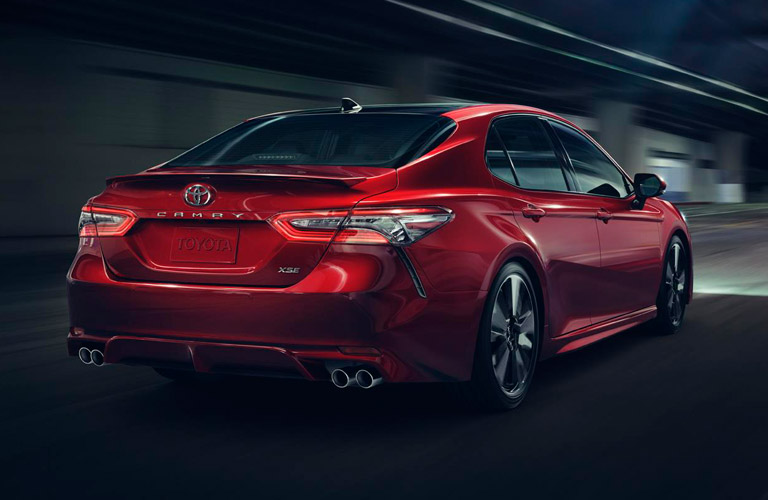 Optimal tire pressure of the 2018 Toyota Camry