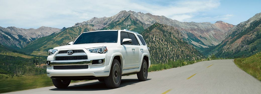 2018 Toyota 4Runner driving on the highway