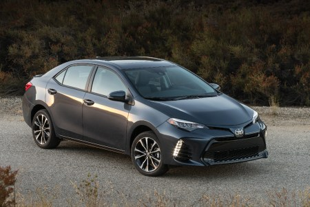 2019 Toyota Corolla parked on a road