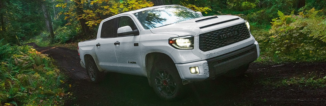What are the exterior color options on the 2020 Toyota Tundra?