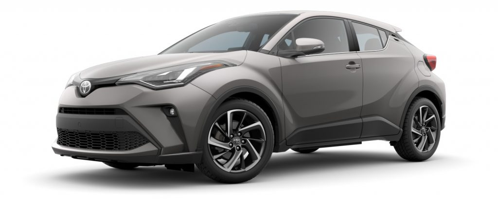 2020 Toyota CH-R in Silver knockout metallic