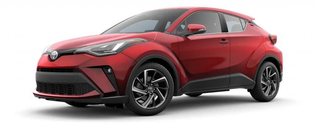 2020 Toyota CH-R in Supersonic red