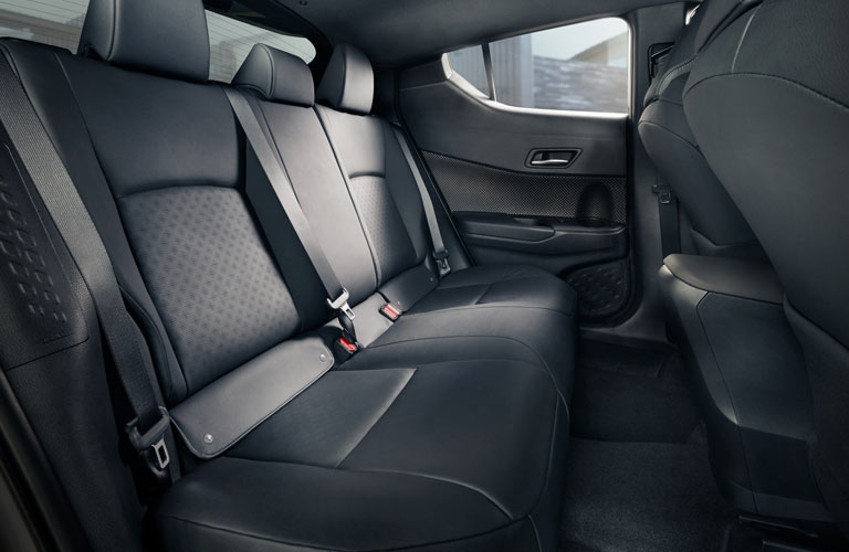 rear seats in the 2020 Toyota CH-R