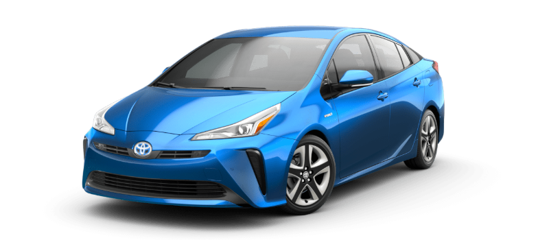 2020 Toyota Prius in electric storm blue
