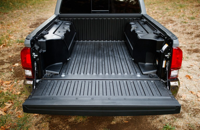 back of the 2021 Toyota Tacoma trail edition