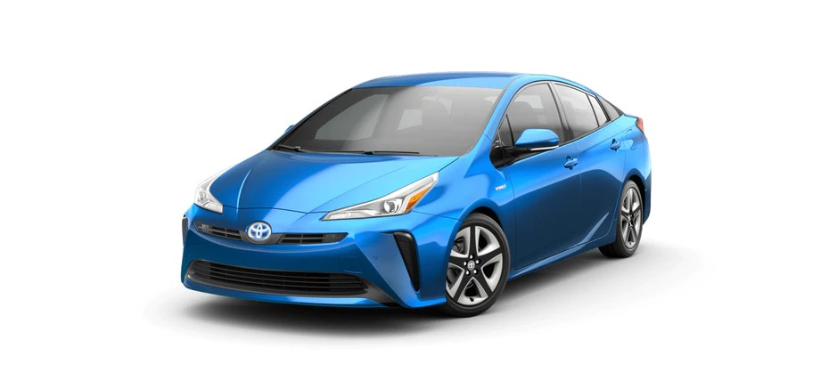 2021 Toyota Prius in Electric Storm Blue