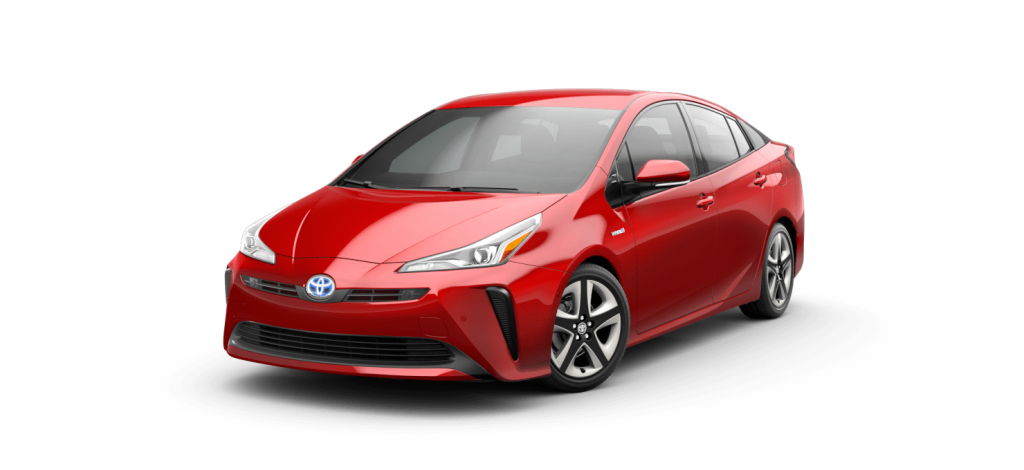 2021 Toyota Prius in Priuis Supersonic Red