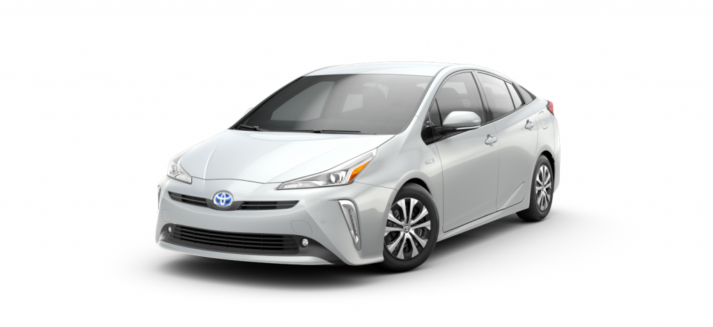 2021 Toyota Prius in Wind Chill Pearl