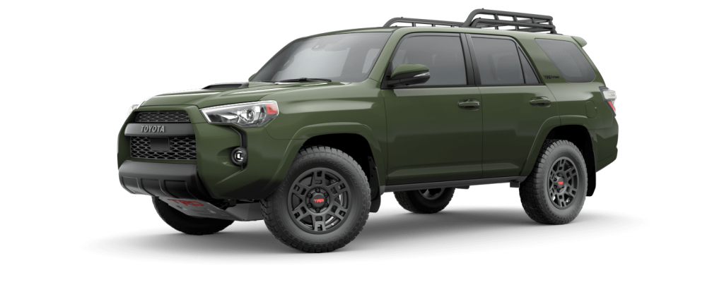 2021 Toyota 4Runner in Army Green
