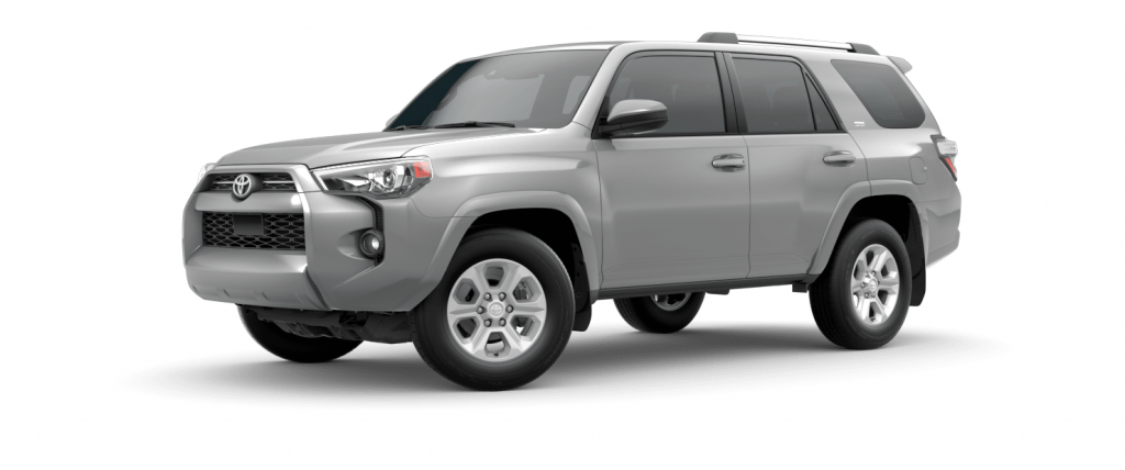 2021 Toyota 4Runner in Classic Silver