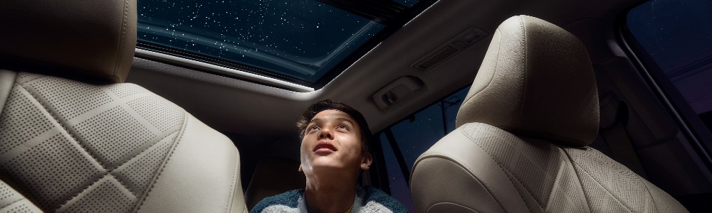 moonroof in the 2021 Toyota Highlander