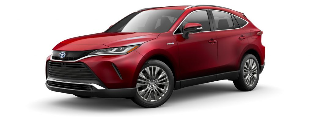 2021 Toyota Venza in Ruby Flare Pearl
