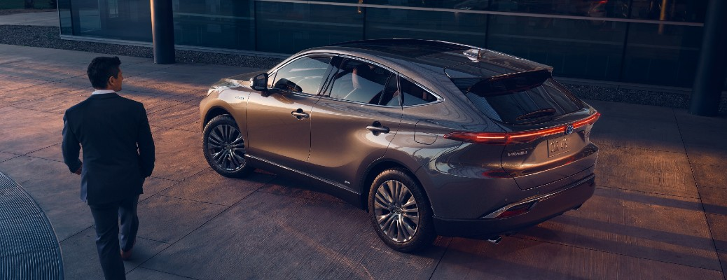 2021 Toyota Venza in the city