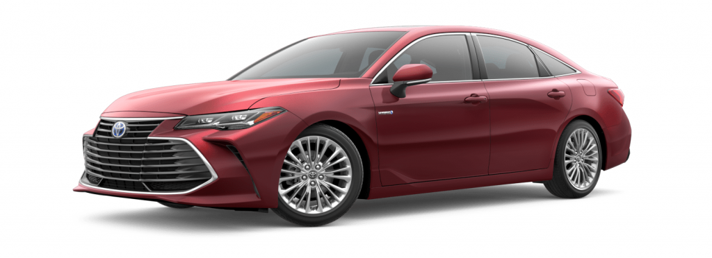2021 Toyota Avalon in Ruby Flare Pearl
