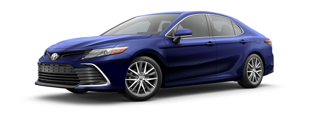 2021 Toyota Camry in blueprint
