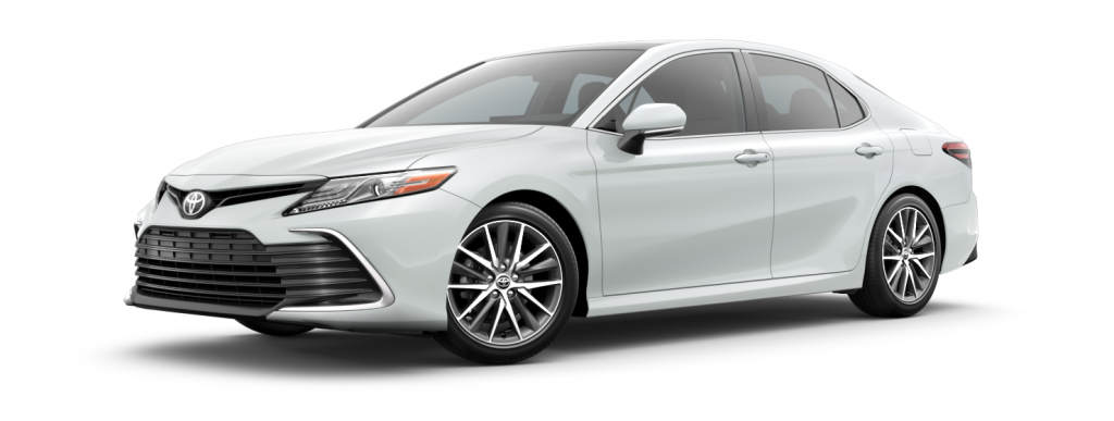 2021 Toyota Camry in wind chill pearl