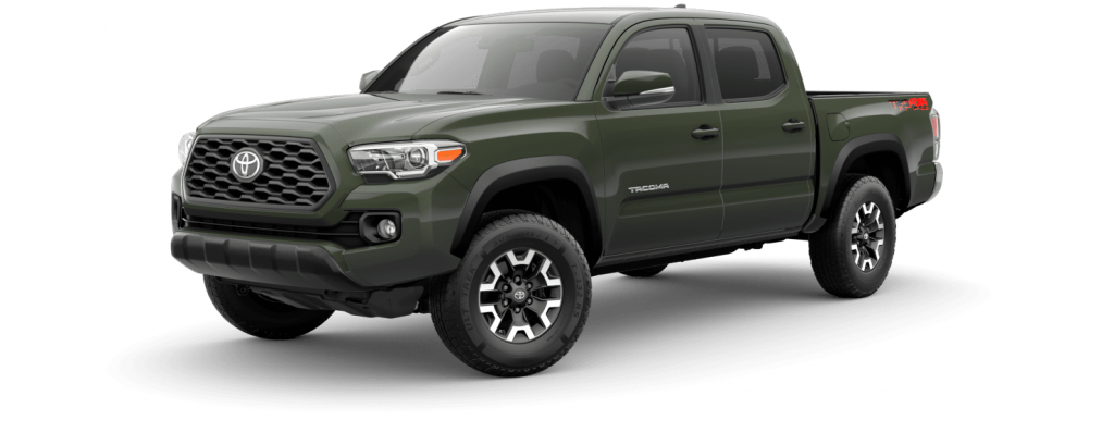 2021 Toyota Tacoma in army green