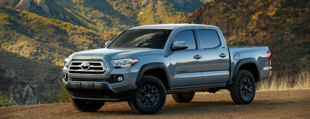 Find your color on the 2021 Toyota Tacoma
