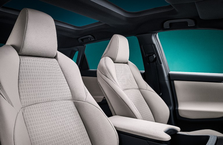 seating in Toyota's bZ4X BEV concept vehicle