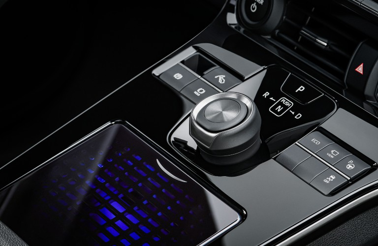 driving shift in Toyota's bZ4X BEV concept vehicle