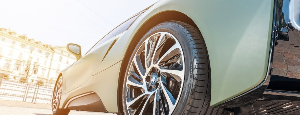 Toyota Car with a good quality branded tire