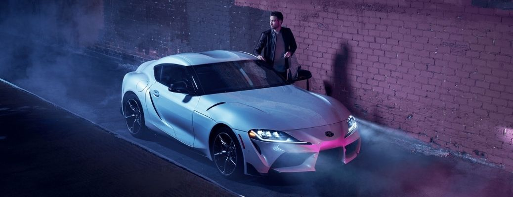 2021 Toyota GR Supra parked side view