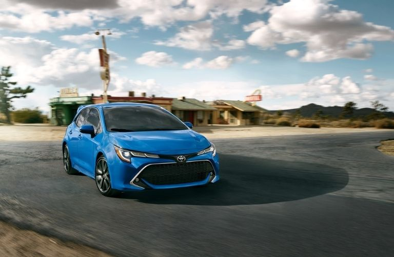 2021 Toyota Corolla parked front view