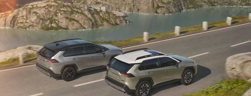 What are the Safety Technologies of the 2021 Toyota RAV4?