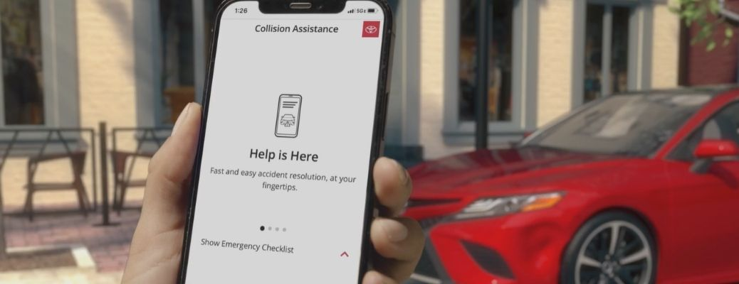 Mobile Collision Assistance debuts from Toyota