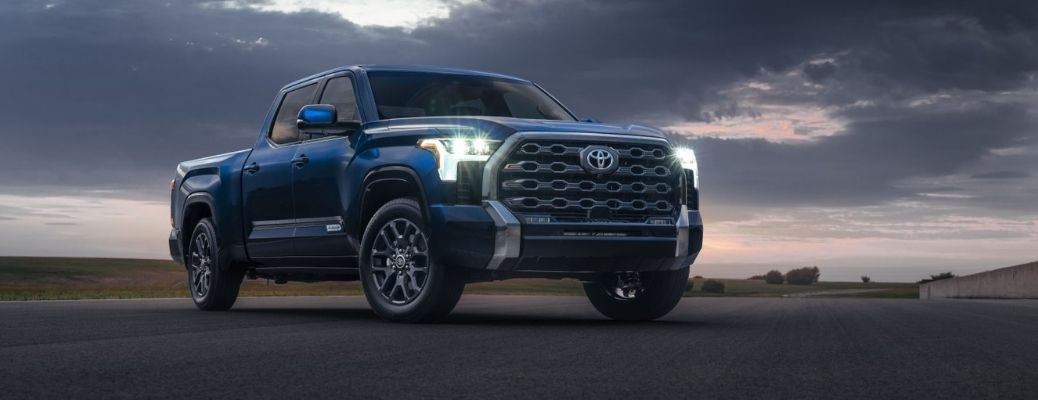 Watch the 2022 Toyota Tundra pickup truck in action
