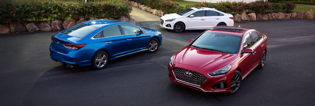 3 Cocoa Hyundai Models in Red White and Blue