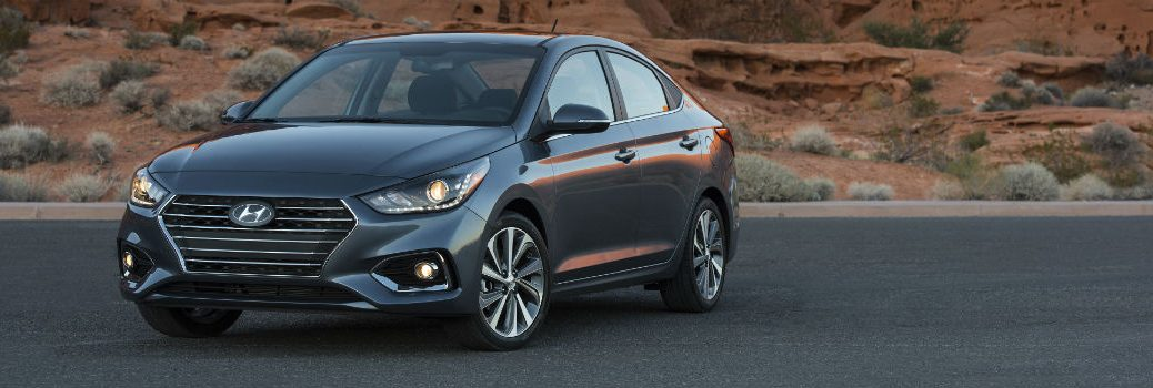 2020 Hyundai Accent Exterior Driver Side Front Profile
