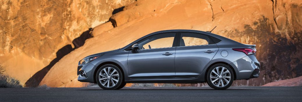 2020 Hyundai Accent Exterior Driver Side Profile