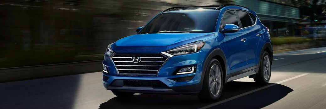 2020 Hyundai Tucson Exterior Driver Side Front Profile