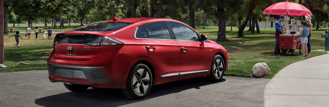 2020 Hyundai Ioniq Exterior & Interior Color Options