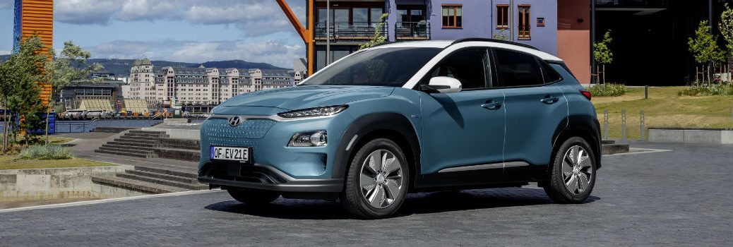 2020 Hyundai Kona Electric Exterior Driver Side Front Profile
