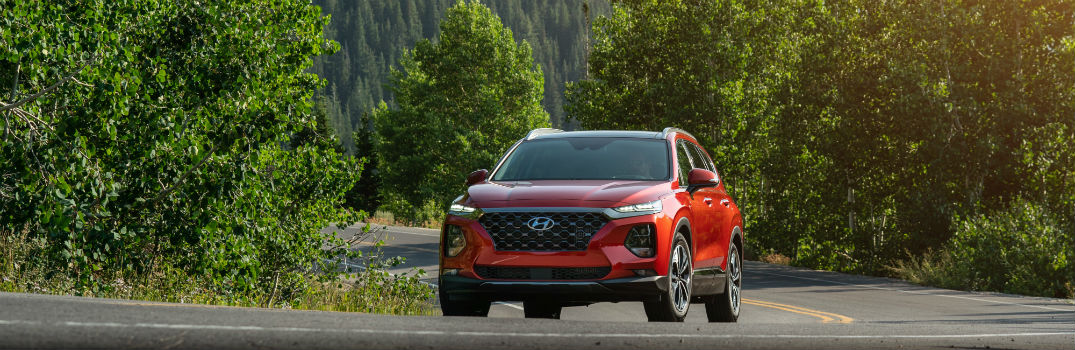 Which Hyundai vehicle is the Best in Class Mid-Sized SUV?