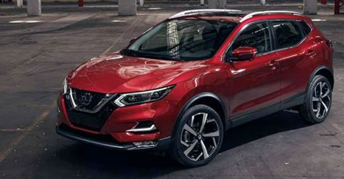 2020 Nissan Rogue exterior profile