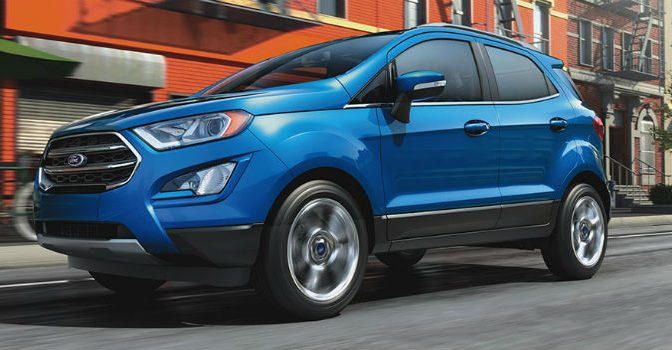 2020 Ford EcoSport exterior profile