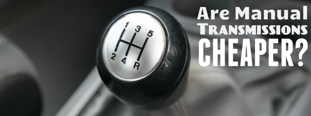 Can you save money buying a used manual transmission car?