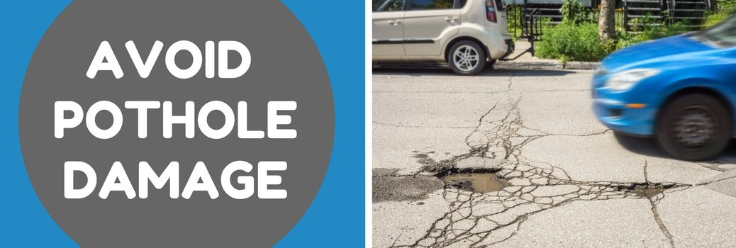What to Do if You Hit a Pothole in Redding CA