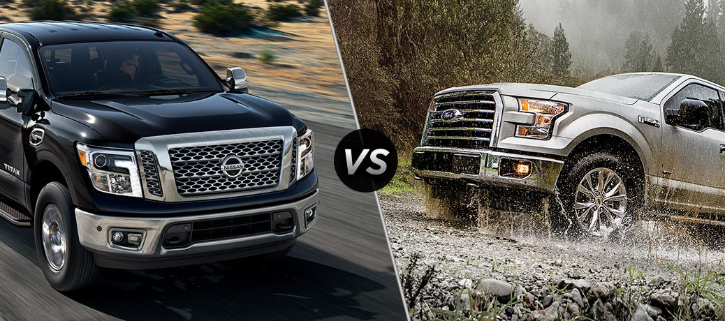 2017 Nissan Titan vs 2017 Ford F-150