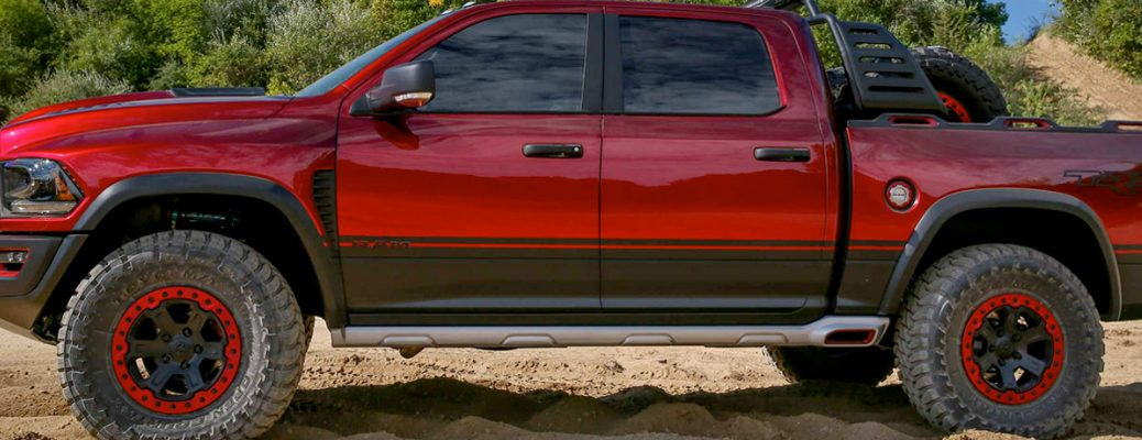 Engine Options and Horesepower Rating on the 2017 Ram 1500 Exterior