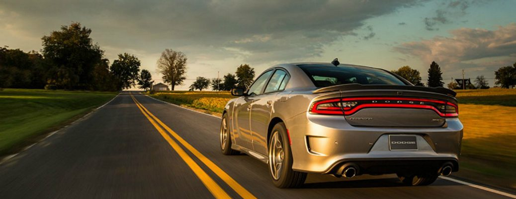 2017 Dodge Charger Driving Down the Road