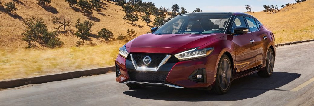 2021 Nissan Maxima Exterior Driver Side Front Angle